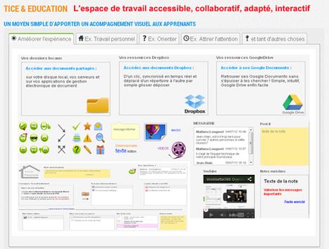 Un bureau collaboratif avec vos élèves (images, vidéos, ressources, messagerie, leçons, devoirs…) | | Ressources pour les TICE en primaire | Scoop.it