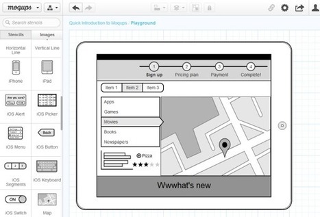 moqups, herramienta en HTML5 para crear diagramas, mockups y wireframes | MEDIA´TICS | Scoop.it