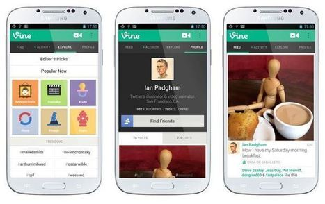 Twitter lance une version Android de Vine | Méli-mélo de Melodie68 | Scoop.it