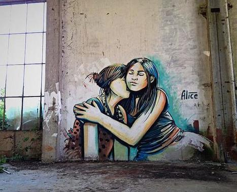 Daze Street Art by Alice Pasquini - Images Palace | World of Street & Outdoor Arts | Scoop.it