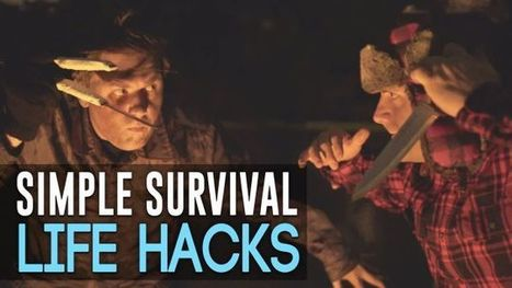 This Video Shows Simple Survival Tricks Using Cans and Other Everyday Objects | Bazaar | Scoop.it