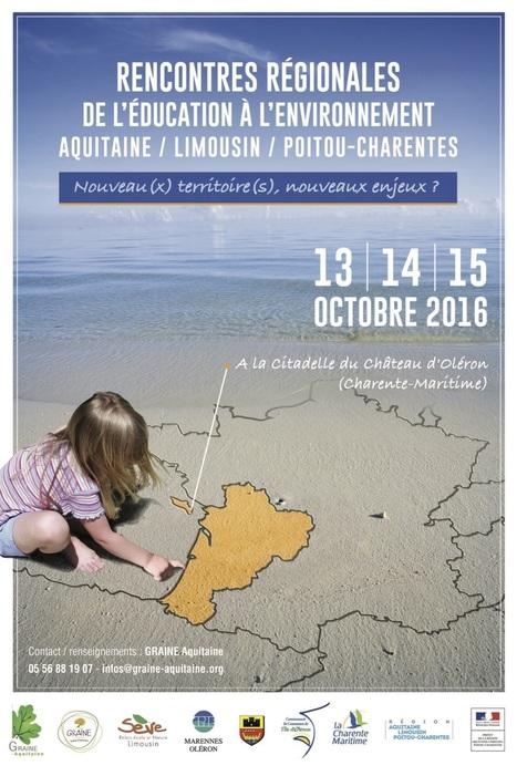 » Rencontres régionales de l'éducation à l'environnement Aquitaine / Limousin / Poitou-Charentes | Espace Mendes France, Poitiers | Scoop.it