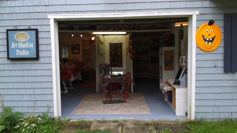 GALLERY IN THE GARAGE READY AND GOING | The Nature of Art | Scoop.it