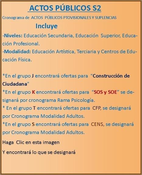 Actos Públicos   matematica y educacion   Scoop.it