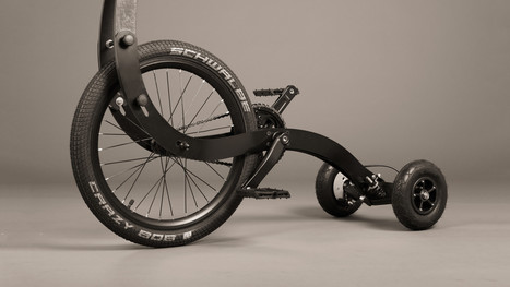 Halfbike II   Halfbike   The compact and light standing bike, anywhere with you!   Ecoloisirs   Scoop.it