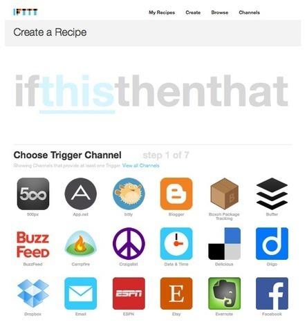 Tu iPhone, más inteligente con las recetas de IFTTT | Desarrollo de Apps, Softwares & Gadgets: | Scoop.it