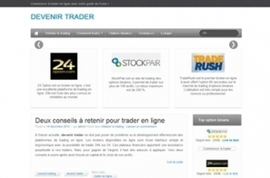 Devenir trader en ligne | Option binaire | Scoop.it