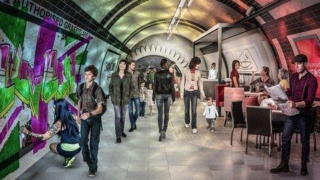 Bientôt des tunnels souterrains pour faire du vélo à Londres ? - Cosmopolitan.fr | Marketing Touristique Innovant | Scoop.it