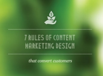 7 Rules of Conversion-Friendly Content Marketing Design [SlideShare]   YazDum Inbound and Content Marketing   Scoop.it