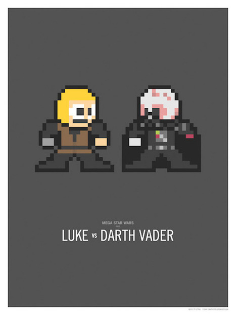 Mega Star Wars Duels: A Long Time Ago and 8-Bits Away   All Geeks   Scoop.it