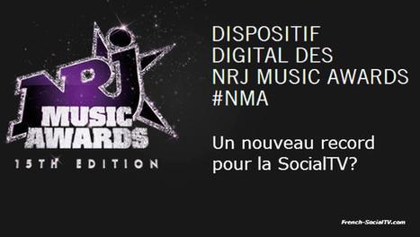Pourquoi les NRJ Music Awards vont encore battre des records SocialTV | Les programmes TV | Scoop.it