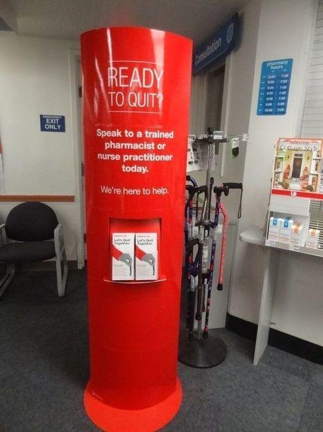 Anti-tabac : comment le 2e pharmacien américain s'engage en point de vente | E-santé, M-santé, pharmacie, e-patient | Scoop.it