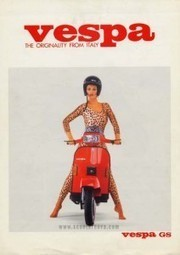 """The Vespa GS 200 – """"I ride a GS scooter with my hair cut neat"""" 