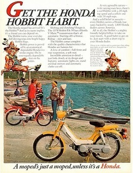 50ccs: The Honda Hobbit | The Legendarium: J.R.R. Tolkien's life and works. The Hobbit, The Lord of the Rings and more | Scoop.it