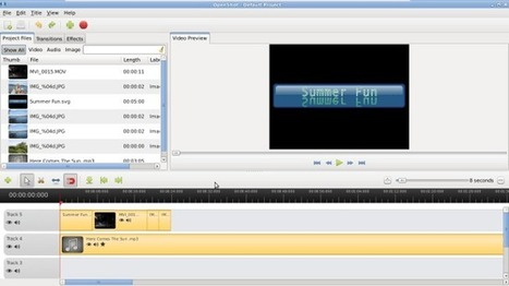OpenShot: Open Source Video Editor ~ Stephen's Web | Educacion, ecologia y TIC | Scoop.it