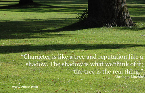 Character Is Like A Tree | Leadership In Action | Interesting | Scoop.it