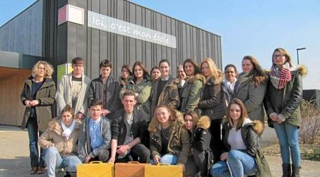 Des lycéens lisent des contes aux jeunes élèves   Le lycée agricole de Caulnes   Scoop.it
