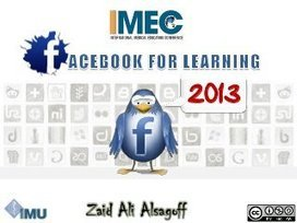 Facebook for Learning at #IMEC8 | Educación a Distancia (EaD)