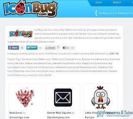 IconBug: un moteur de recherche d'icônes gratuites | Fatioua Veille Documentaire | Scoop.it