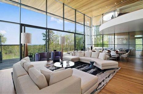 Impressionnante maison contemporaine au cœur d'une forêt aux USA | Construire Tendance | Dans l'actu | Doc' ESTP | Scoop.it