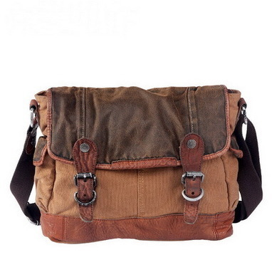 Distressed wash canvas hunter messenger bag from Vintage rugged canvas bags | Best mens style outlet | Scoop.it