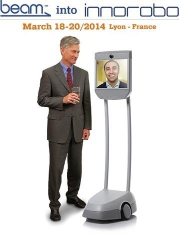 Visitez virtuellement le salon Innorobo avec Awabot | Cabinet de curiosités numériques | Scoop.it