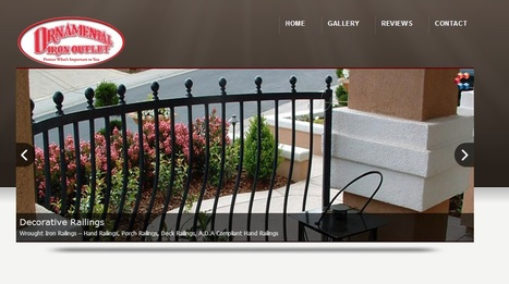 Iron Gates Specialist - http://ironoutlet.com/ | Custom Courtyard Gates Design with variant styles around Sacramento | Scoop.it