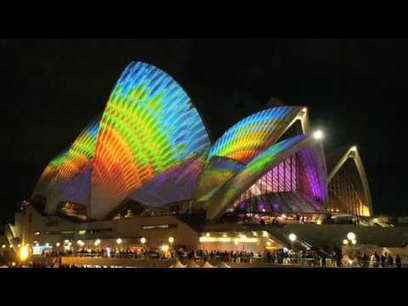 The Sydney Opera House Is an Incredible Screen for Psychedelic Video - Gizmodo | OPERA | Scoop.it
