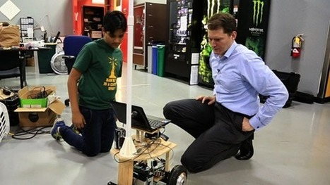 Robotics CEO: 12-Year-Old Whiz As Smart As Ph.Ds | The Robot Times | Scoop.it