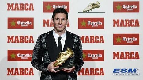 Lionel Messi ganó su tercer Botín de Oro - ESPN Deportes Video | Deportes | Scoop.it