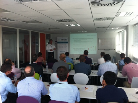Succesfull SIGFOX International Training Day yesterday in Labège ! | a global view of IoT | Scoop.it