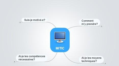 Carte mentale MITIC | Classemapping | Scoop.it