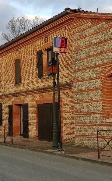 Un radar pédagogique installé rue Principale | Radar Pédagogique | Scoop.it