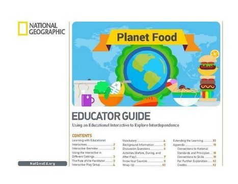 Planet Food Educator Guide | Educational technology , Erate, Broadband and Connectivity | Scoop.it