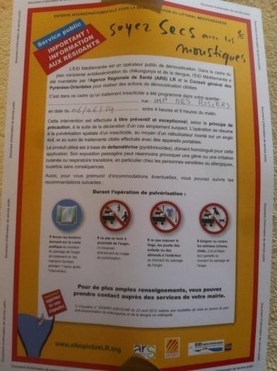 Un cas de chikungunya à Banyuls-sur-Mer | EntomoNews | Scoop.it