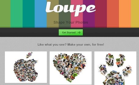Loupe, crea tu propio collage con divertidas formas | Herramientas digitales | Scoop.it