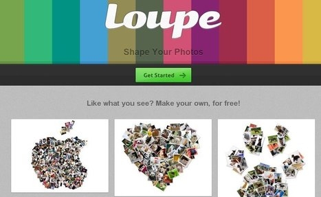 Loupe, crea tu propio collage con divertidas formas | Educación y tics | Scoop.it