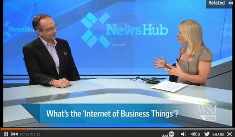 Minority Report? The 'Internet of Business Things' video interview via WSJ | Startup Revolution | Scoop.it