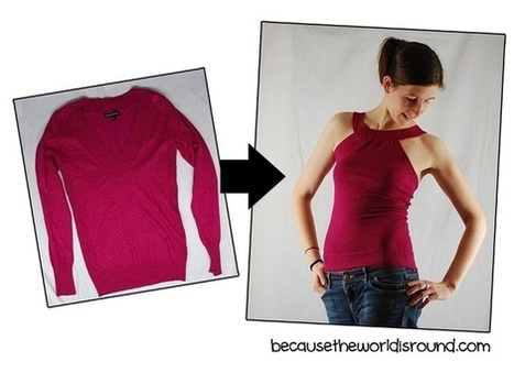 Clothing DIY and Refashion Ideas   Home Improvement and DIY   Scoop.it