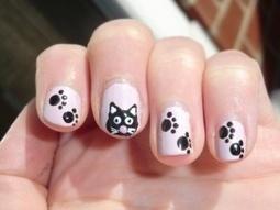 nail design cat | nail art | Scoop.it