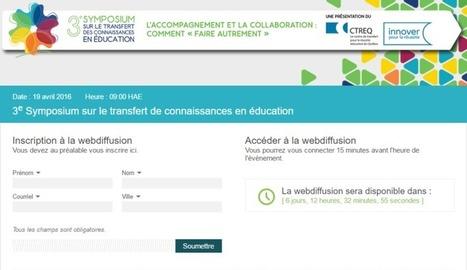 Le 3e symposium à distance : comment procéder   Actualité pédagogique collégiale   Scoop.it