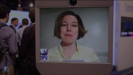 I, Robot Journalist: Beaming Into CES 2014 From My Kitchen - Telepresence Options   rapidindustries   Scoop.it