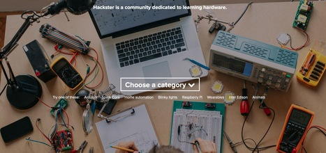 Hackster.io - The community dedicated to learning hardware | Digital #MediaArt(s) Numérique(s) | Scoop.it