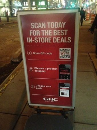 GNC bridges in-store and online via QR codes - Software and technology - Mobile Commerce Daily | customer service1 | Scoop.it