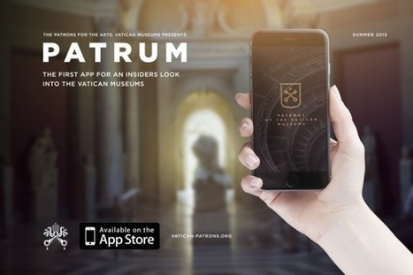 Clic France / Patrum, l'application de mécénat populaire des musées du Vatican suscite la polémique | Clic France | Scoop.it