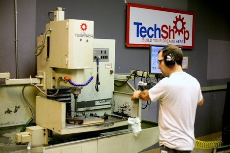 TechShop Launches Their New Maker Space Academy | Peer2Politics | Scoop.it