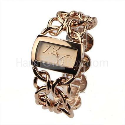 Modern Design Delicate Analog Quartz Metal Bracelet Watch | watch | Scoop.it