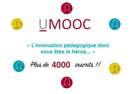 4000 ! et vous ? L'innovation pédagogique dont vous êtes le héros - UMOOC   Technologie et langues   Scoop.it