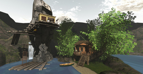 The Lakehouse of Reflection   SL Homes & Gardens Scoop   Scoop.it