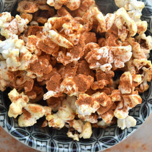 Healthy Coconut Cinnamon Popcorn Recipe for Your Movie Night (Just 5 ... - Glamour (blog) | Great Recipes | Scoop.it